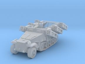 Sdkfz 251 D1 Stuka Zu Fuss scale 1/285 in Smoothest Fine Detail Plastic