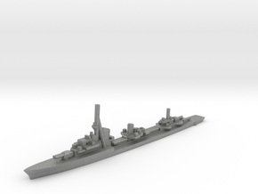 German Type1936A Destroyer in Gray Professional Plastic