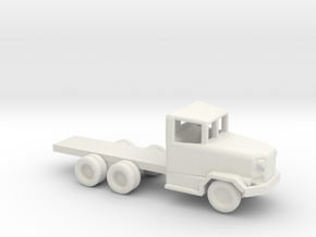 1/200 Scale M46 Truck Chassis in White Natural Versatile Plastic