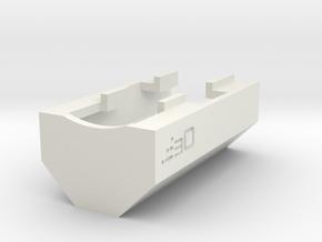 G3 T3 SAS Handguard in White Natural Versatile Plastic