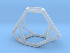 """""""Irregular"""" polyhedron no. 2 in Smooth Fine Detail Plastic: Small"""