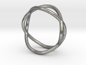 Ring 10 in Natural Silver