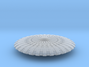 UFO12-N-scale in Smooth Fine Detail Plastic