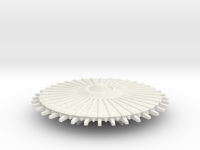 UFO14-landed in White Natural Versatile Plastic