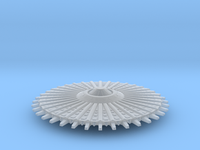 UFO 14 N scale in Smooth Fine Detail Plastic