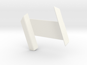 RDS Interlock - Standard (solid) in White Processed Versatile Plastic