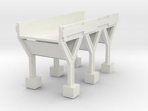 armored bridge  in White Natural Versatile Plastic