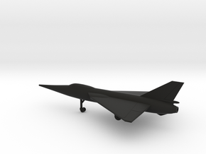Fairey FD.2 Delta II in Black Natural Versatile Plastic: 1:160 - N