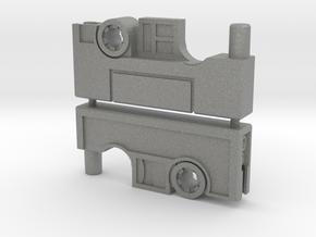 Cassette Pistol Set (5mm) in Gray PA12