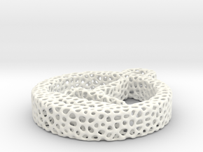 724yoga16 voronoi in White Processed Versatile Plastic