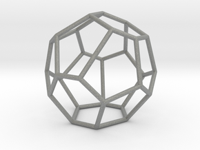 Fullerene with 16 faces, no. 2 in Gray Professional Plastic