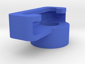 Binocular-phone attachment - Digiscope - Left Half in Blue Processed Versatile Plastic