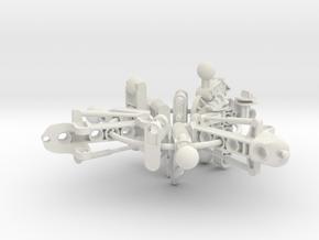 Botora Pieces Ring Part 2 in White Natural Versatile Plastic