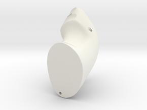 Custom Controller in White Natural Versatile Plastic: Medium