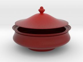 Scarlet Box in Matte Full Color Sandstone