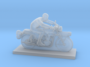 Biker - V9 in Smooth Fine Detail Plastic