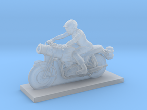 Biker - V4 in Smooth Fine Detail Plastic