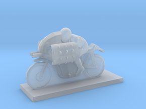 Biker - V3 in Smooth Fine Detail Plastic