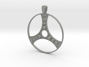 Apollonian Pendant in Gray Professional Plastic