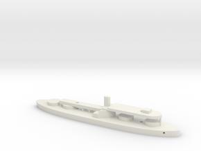1/1250 HMS Prince Albert (1864) Gaming Model in White Natural Versatile Plastic