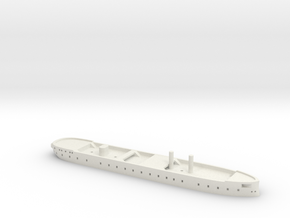 1/1250 HMS Northumberland (1866) Gaming Model in White Natural Versatile Plastic