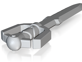 jaggy sword (#113) in White Natural Versatile Plastic
