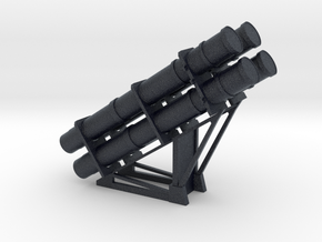 1:72 RGM 84 HARPOON Launcher in Black Professional Plastic