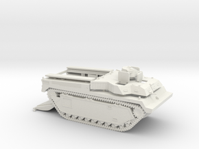 1/87 LVT-3C with open cargo bay in White Natural Versatile Plastic