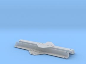Czech Hedgehog (WWII German tank barrier) in Smooth Fine Detail Plastic: 1:16