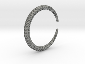 DRAGON Solid, Bracelet. Pure, Strong. in Gray PA12: Extra Small
