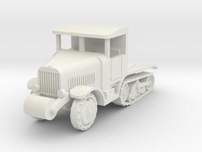 Somua MCG heavy art. tractor  1:100 in White Natural Versatile Plastic