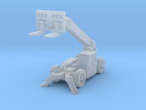 CatTL1255C telehandler lift in Smoothest Fine Detail Plastic: 1:200