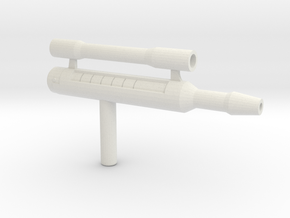 Rage Winterchill Gun in White Natural Versatile Plastic
