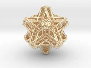 Hedron stars Nest in 14K Yellow Gold