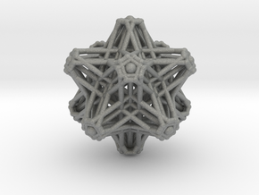 Hedron stars Nest in Gray PA12