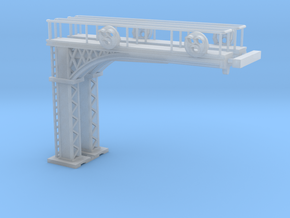 Cantilever Target 3 Lamp 2 Track1L &1R) Z scale in Smooth Fine Detail Plastic
