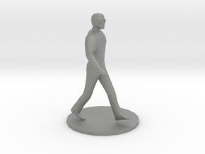 O Scale Man Walking in Gray PA12