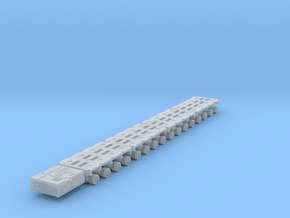 400 Goldh PST x4 powered moving modules in Smoothest Fine Detail Plastic: 1:400