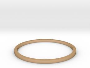 Ring Inside Diameter 19.4mm in Polished Bronze