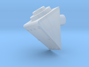 Antenna mount 20 degre in Smooth Fine Detail Plastic