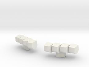 1:64 Lightbar #13 in White Natural Versatile Plastic
