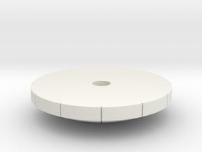 06D4-HGA-mesh pattern in White Natural Versatile Plastic