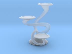 "Tripla Candelabra - Votive (1.5"") Candle in Smooth Fine Detail Plastic"