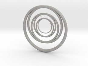 Linked Circle1 in Aluminum