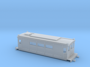 BTH Ford Shunting Engine - Zscale in Smooth Fine Detail Plastic