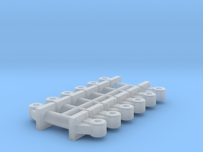 Coupler Lift Bracket (HO - 1:87) 12X  in Smoothest Fine Detail Plastic