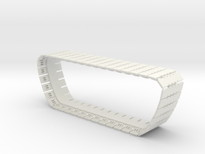 Randy Sandcrawler Tread in White Natural Versatile Plastic
