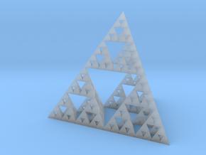 Sierpinski's Tetrahedron in Smooth Fine Detail Plastic