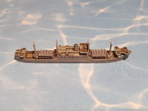 IJA Kibitsu Maru Landing Craft Depot Ship 1/2400 in Smoothest Fine Detail Plastic
