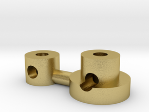 emitter add-on E in Natural Brass